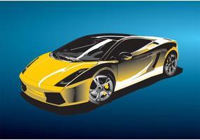 Racing bil vektor