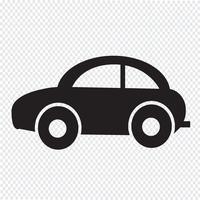 Bil Ikon symbol tecken vektor