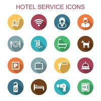 Hotelservice-Symbole