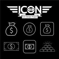 Geld Symbol Symbol Zeichen