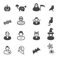 Fröhliche Halloween-Symbole
