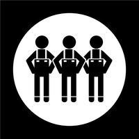 Människor Ikon symbol tecken