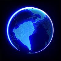 Global uppvärmning abstrakt vektor
