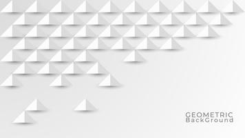 Abstrakter weißer und grauer Hintergrund. Geometrische Textur Modernes Design. Vektorabbildung ENV 10.