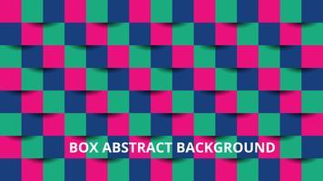 Box abstrakt bakgrund vektor