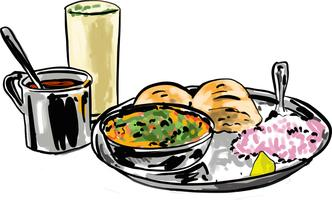 Misal Vector illustration