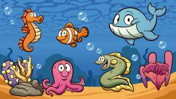 Havsvarelser vektor