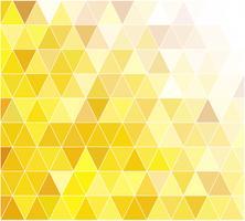 Gelber Gitter-Mosaik-Hintergrund, kreative Design-Schablonen vektor
