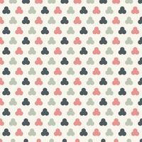 Zusammenfassung kreist nahtlosen Musterpastell-Farbhintergrund ein. Geometrisches Maßwerk.