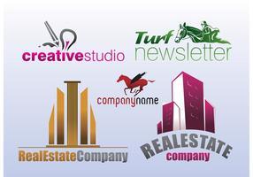 Marke Logo Stock Vektoren