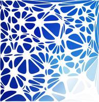 Blå modern stil, kreativa designmallar