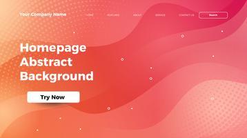 Homepage abstrakte Welle bunten Hintergrund