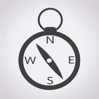 Kompass Symbol Symbol Zeichen