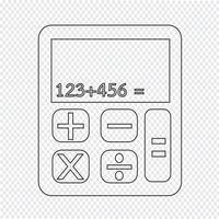 Rechner Symbol Symbol Zeichen