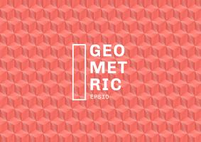Abstrakte Korallenfarbenpolygone 3D kopieren Hintergrund und Beschaffenheit. Geometrische Dreiecke formen rosa Farbe. Sie können für Template-Cover-Design, Buch, Website, Banner, Werbung, Poster usw. verwenden. vektor