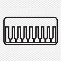 Piano Icon Symbol Zeichen