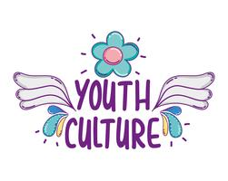 Jugendkultur-Cartoons vektor