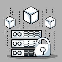 Blockchain Cubes Digitale Sicherheitstechnik
