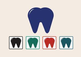 Zahn Symbol Symbol Zeichen