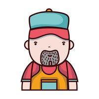 Mann Klempner Job zu reparieren