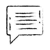 textchattbubbla anteckningar textmeddelande vektor
