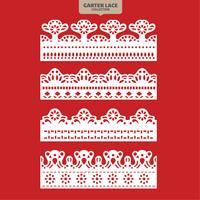 Set Strumpfband Spitze Ornament zum Sticken Schneiden von Papier und Laser geschnitten