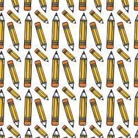 Bleistift Schulwerkzeug Objekt Hintergrunddesign