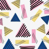 färg geometrisk figur bakgrundsdesign