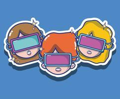 Videospielkonsole futuristische Technologie zu spielen
