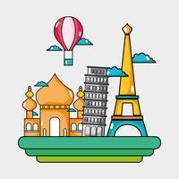 resa semester länder att besöka