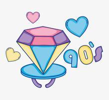 Ich liebe 90er Jahre Cartoons vektor