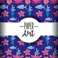 Papierkunst Hintergrund
