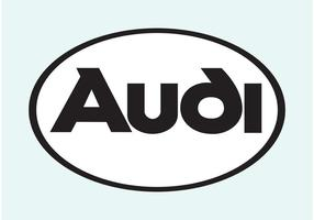 Audi vektor logotyp