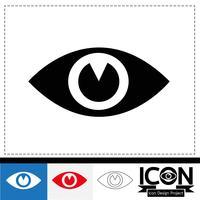 ögonsymbolsymbols tecken vektor