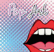 Pop-Art-Cartoon