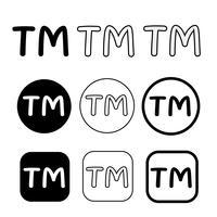 Varumärke ikon symbol tecken