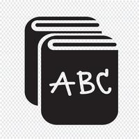 Bok Icon symbol tecken