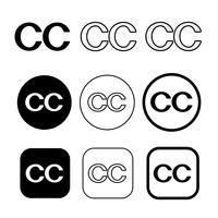 Creative Commons Symbol Symbol Zeichen