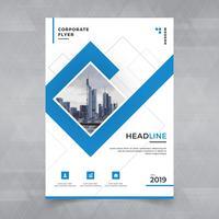 Broschüre, Plakat, Flieger, Flugschrift, Zeitschrift, Abdeckungsdesign mit Raum für Fotohintergrund, Vektorillustrationsschablone in der Größe A4