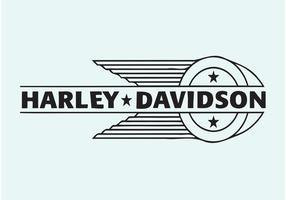Harley Davidson Vektor-Logo vektor
