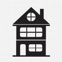 fastighetsikon vektor