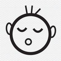 baby sova ikon