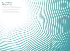 Abstrakt havsvågmönster cirkel av omslagspresentationsbakgrund. Du kan använda för annons, affisch, omslagsdesign, resekampanj, årsrapport.