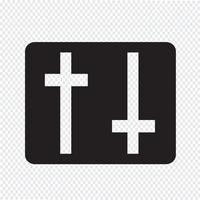 Einstellungen Symbol Zeichen Illustration