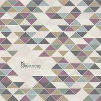 Abstrakt vintage triangelmönster design bakgrund. Du kan använda för konstverk täckning av gamla antik element, täcka, skriva ut, annons. vektor