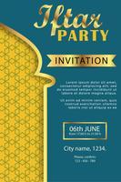 Plakat modernes Design Eid Mubarak Vorlage vektor