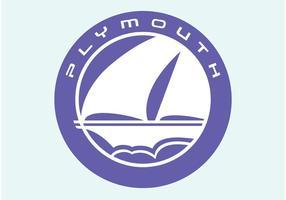 Plymouth vektor logotyp