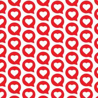 Muster Hintergrund Herzsymbol Sprechblase