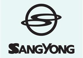 ssang yong vektor