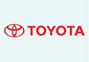 Toyota-vektorzeichen